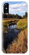 Jackfish Creek In Autumn IPhone Case
