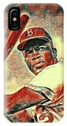Jackie Robinson Baseball Player IPhone Case