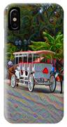 Jackson Square Horse And Buggies IPhone Case