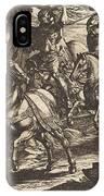 Jacob Kills Absalom, Son Of King David IPhone Case