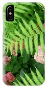 Jacqueline's Garden - Camaraderie Of Textures IPhone Case