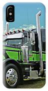 Jade Transport Peterbilt IPhone Case