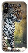 Jaguar At Rest IPhone Case