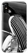 Jaguar Grille Black And White IPhone Case