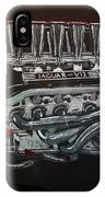 Jaguar V12 Twr Engine IPhone Case
