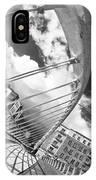 James Joyce Bridge Bw IPhone Case