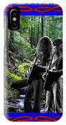 Jamming On Mt. Spokane 1 IPhone Case