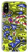 Janca Abstract # 6731eac1 IPhone Case