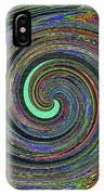 Janca Abstract Panel #5473w4 IPhone Case