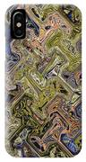 Janca Color Panel Abstract #5687 Et1b IPhone Case