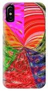 Janca Colors Panel Abstract # 5212 Wtw7 IPhone Case