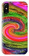 Janca Colors Panel Abstract # 5212 Wtw7abc IPhone Case