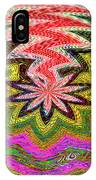Janca Pink Color Panel Abstract #5212 Wtw6 IPhone Case
