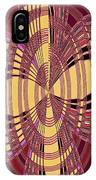 Janca Red And Yellow Abstract  IPhone Case