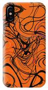 Janca Red Power Tower Abstract IPhone Case