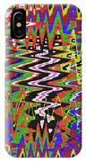 Jancart Drawing Abstract #8455wt IPhone Case