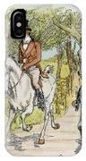 Jane Austen: Illustration IPhone Case