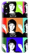 Jane Fonda Mug Shot X9 IPhone Case