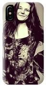 Janis Joplin, Music Legend IPhone Case