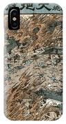 Japan: Earthquake, 1855 IPhone Case