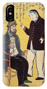 Japan: French Trade, 1861 IPhone Case