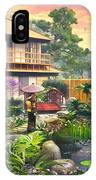 Japan Garden Variant 2 IPhone Case