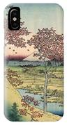 Japan: Maple Trees, 1858 IPhone Case