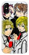 Japanese Anime Characters. IPhone Case