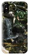 Japanese Garden And Koi Pond IPhone Case