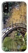 Japanese Garden Bridge IPhone Case