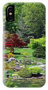 Japanese Garden I IPhone Case
