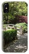 Japanese Garden Path With Azaleas IPhone Case