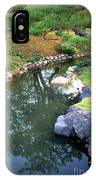 Japanese Garden Reflection IPhone Case