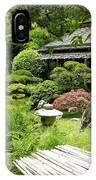 Japanese Garden Teahouse IPhone Case