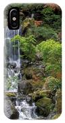 Japanese Garden Waterfall IPhone Case