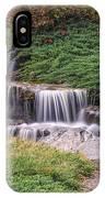 Japanese Gardens Waterfall IPhone Case