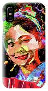 Japanese Geisha Colored IPhone Case