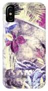 Japanese Iris - Kimono Series IPhone Case