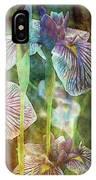 Japanese Iris Tall 2694 Idp_4 IPhone Case
