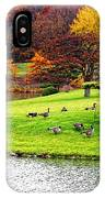 Japanese Island Fall Colors IPhone Case