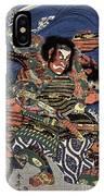 Japanese Samurai IPhone Case