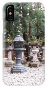 Japanese Stone Lanterns IPhone Case