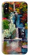 Japanese Waterfall IPhone Case