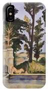 Jas_de_bouffan_after_cezanne IPhone X Case