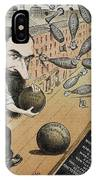 Jay Gould Cartoon, 1882 IPhone Case
