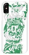 Jayson Tatum Boston Celtics Pixel Art 12 IPhone X Case