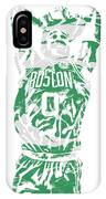 Jayson Tatum Boston Celtics Pixel Art 12 IPhone Case