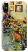 Jazz At The Gallery IPhone Case