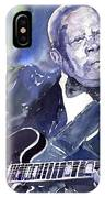 Jazz B B King 01 IPhone Case