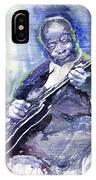 Jazz B B King 02 IPhone Case